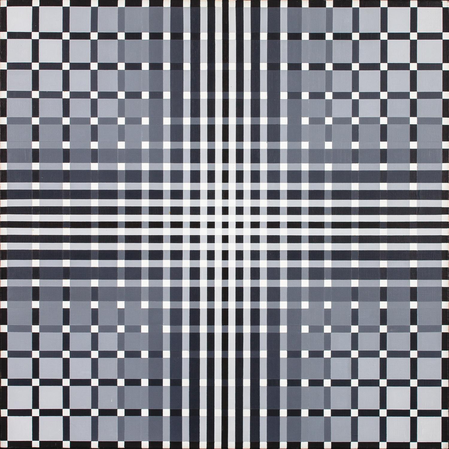 10_Sobrino Francisco olio su tela 60x60 Relaciones BNG-D 1959:1970