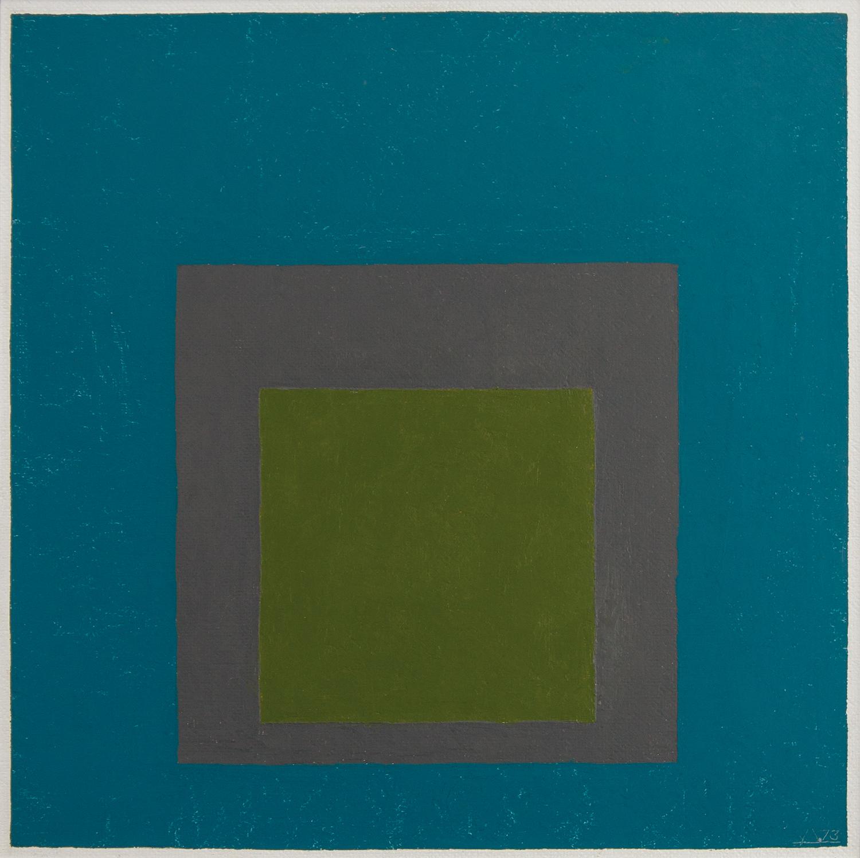 51_Josef Albers Homage to the Square olio su masonite 1973 40x40