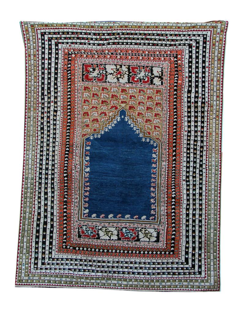 antico ghiordes 176x131 metà XIX sec anatolia occidentale