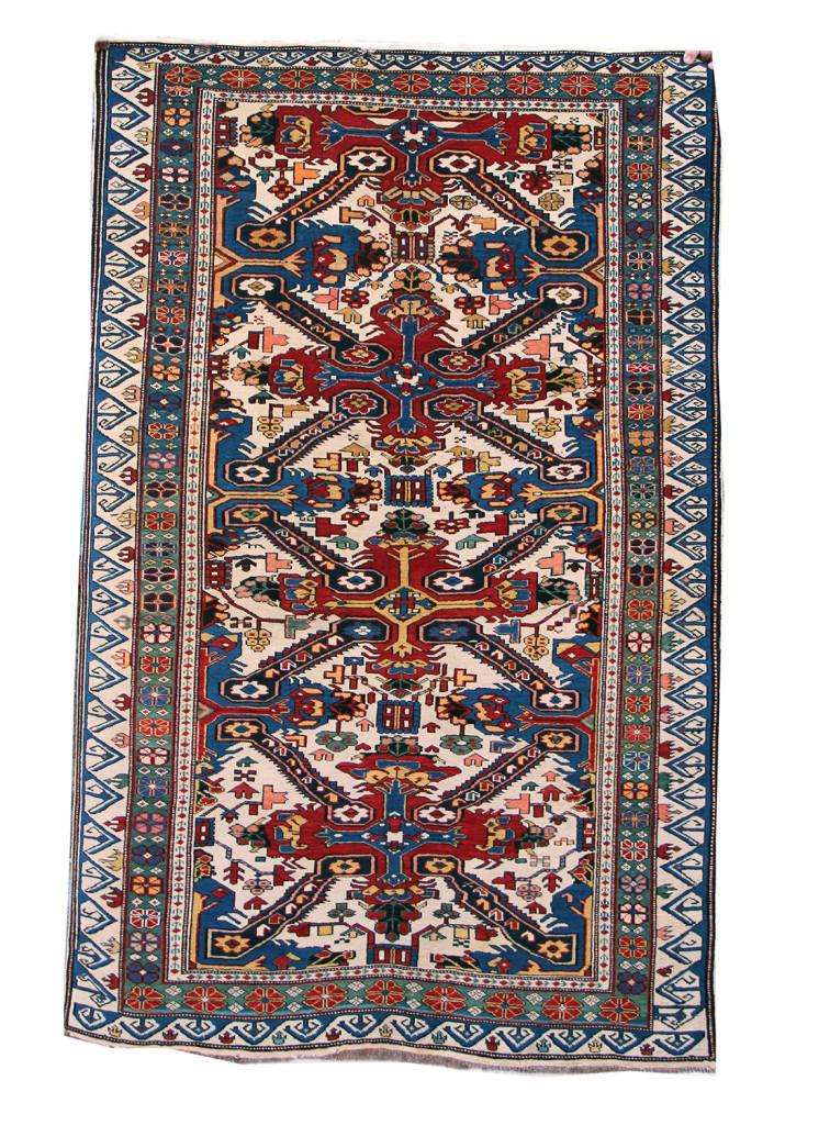 antico zeichur 183x121 ultimo quarto XIXsec caucaso nord orientale