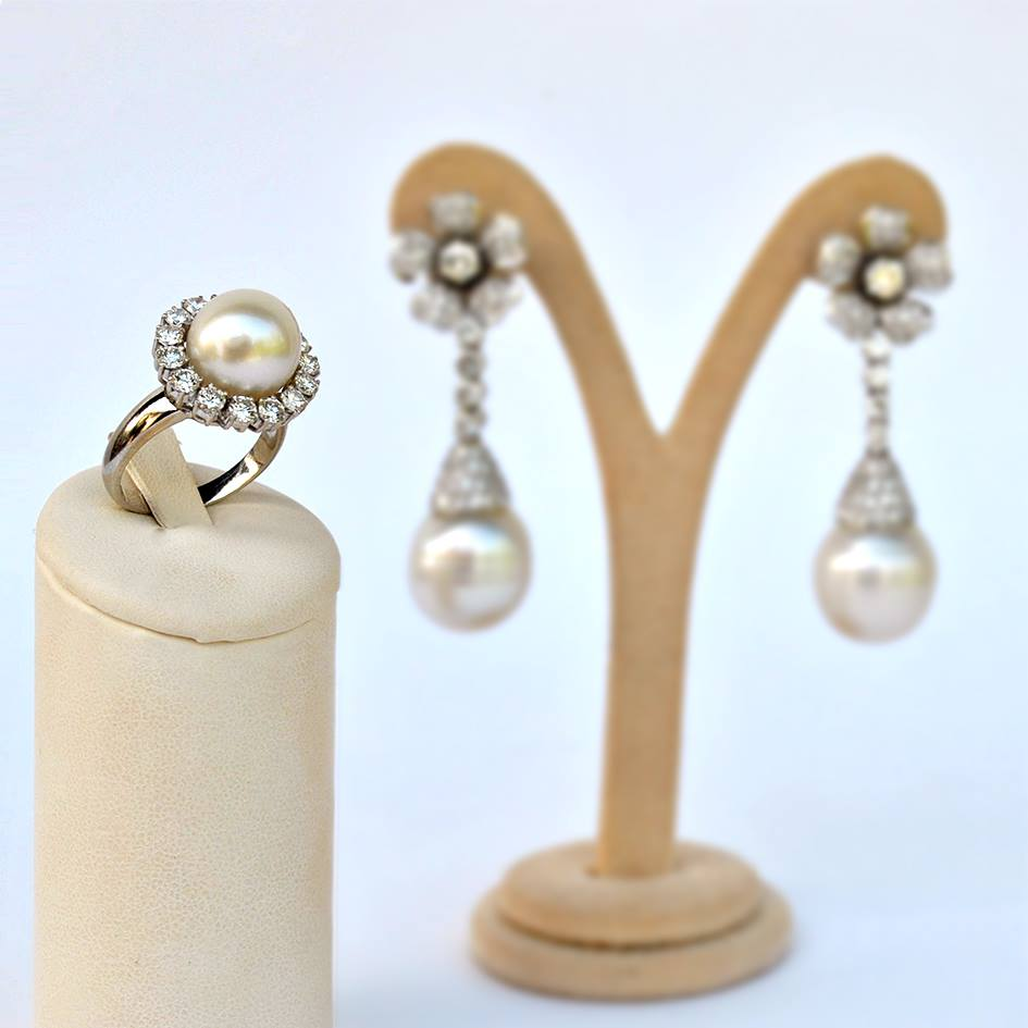 parure perle